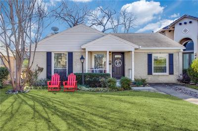 Single Family Home Active Contingent: 5534 Matalee Avenue