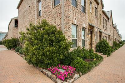 Plano Townhouse Active Option Contract: 5731 Headquarters Drive