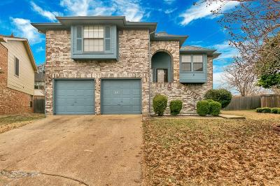 Plano Single Family Home Active Option Contract: 792 Pierre Lane