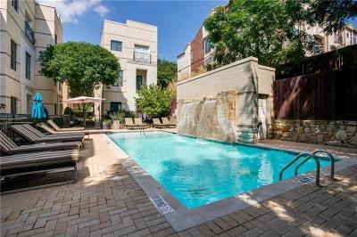 Dallas Townhouse For Sale: 3210 Carlisle Street #6
