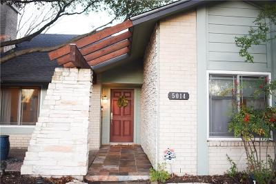 Garland Single Family Home Active Option Contract: 5014 Royalshire Lane