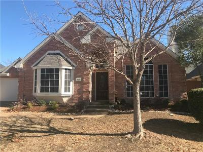 Mckinney Single Family Home Active Option Contract: 307 Eagle Point