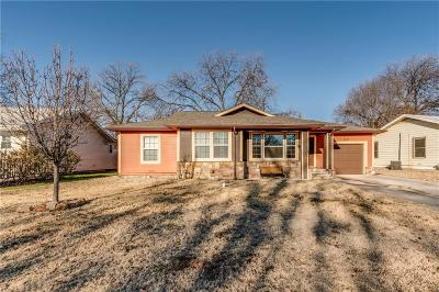 Haltom City Single Family Home Active Option Contract: 3537 Beverly Drive