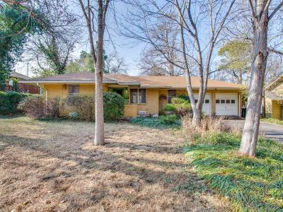 Denton Single Family Home For Sale: 2115 Crestwood Place