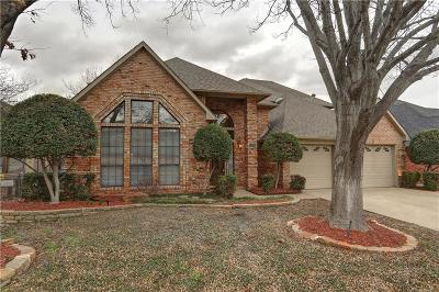 Coppell Single Family Home Active Option Contract: 328 Parkview Place