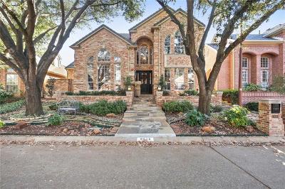 Single Family Home For Sale: 5618 Preston Fairways Drive