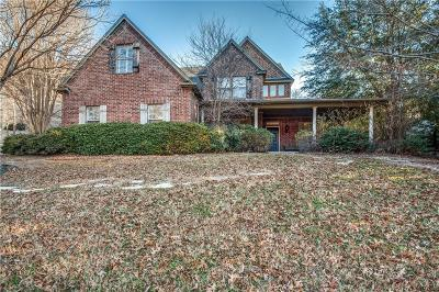 Single Family Home For Sale: 4137 Shadow Drive