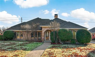 Plano Single Family Home Active Option Contract: 6604 Turtle Point Drive