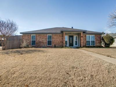 Plano Single Family Home Active Option Contract: 6629 Belcamp Drive