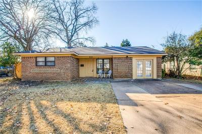 Richardson Single Family Home Active Option Contract: 612 La Salle Drive