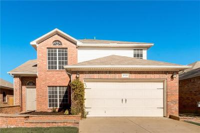 Fort Worth TX Single Family Home Active Option Contract: $239,000