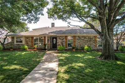 Plano Single Family Home Active Option Contract: 3200 Winchester Drive