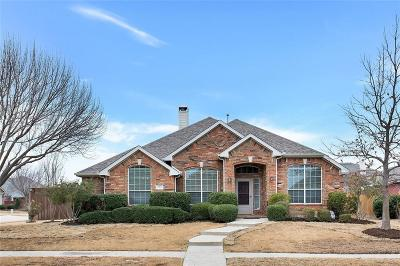 Allen Single Family Home Active Option Contract: 905 Carlsbad Drive