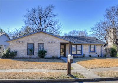 Garland Single Family Home Active Option Contract: 2922 Forest Park Drive