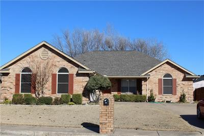 Waxahachie Single Family Home Active Option Contract: 604 Hanover Drive