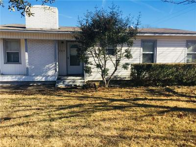 White Settlement Single Family Home Active Option Contract: 200 N Redford Lane