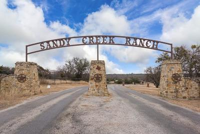 Weatherford Single Family Home Active Option Contract: 292 Sandy Creek Trail