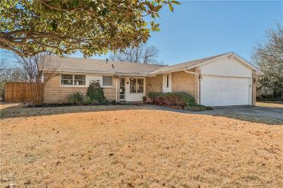 Richardson Single Family Home Active Option Contract: 605 Bedford Drive