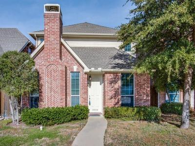 Carrollton Single Family Home For Sale: 1009 Rodin Lane