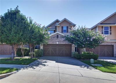 Plano Townhouse Active Option Contract: 6224 Weinberg Court