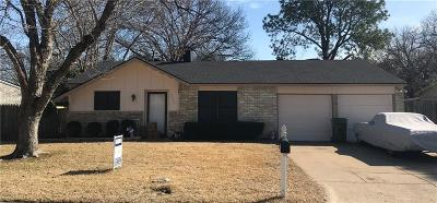 Arlington Single Family Home Active Option Contract: 3601 Lasalle Drive
