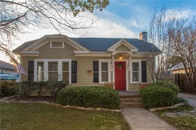 Fort Worth Single Family Home For Sale: 3126 Wabash Avenue