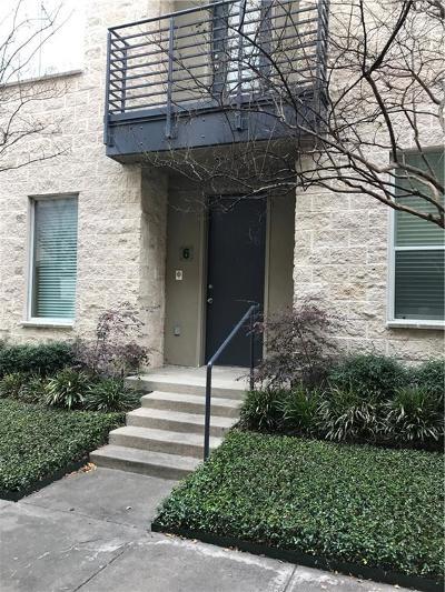 Dallas Condo For Sale: 4312 McKinney Avenue #6