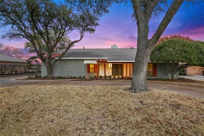 Fort Worth Single Family Home Active Option Contract: 313 Willow Ridge Road