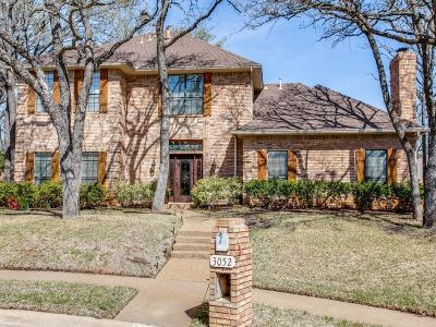 Grapevine Single Family Home Active Option Contract: 3052 Creekbend Circle
