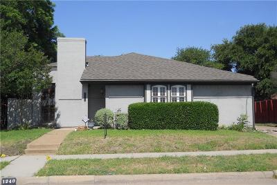 Richardson Single Family Home For Sale: 1240 Richland Oaks Drive