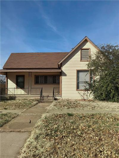 Single Family Home Active Option Contract: 1025 E Chaffin Street
