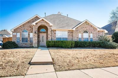 Allen Single Family Home Active Option Contract: 108 Sunridge Way