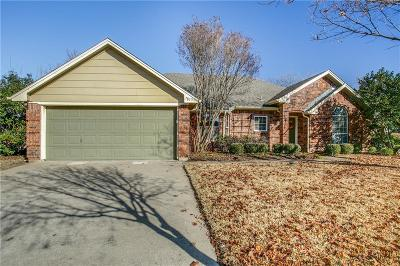 North Richland Hills Single Family Home Active Option Contract: 7817 Cortland Drive