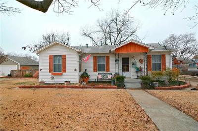 Haltom City Single Family Home Active Option Contract: 3341 Rita Lane