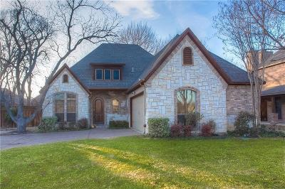Flower Mound Single Family Home Active Option Contract: 4725 Bayberry Street