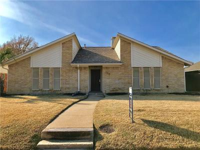 Coppell Single Family Home Active Option Contract: 209 S Heartz Road