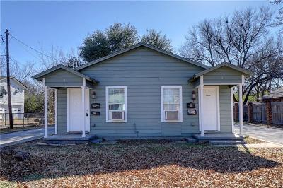 Haltom City Multi Family Home Active Option Contract: 3800 Selma Street