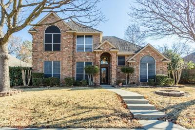 Lewisville Single Family Home Active Option Contract: 1907 Hidden Trail Drive