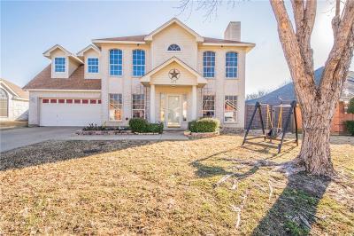 Haltom City Single Family Home Active Option Contract: 6012 Western Creek Lane