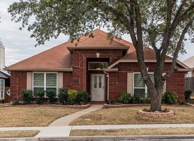 Carrollton Single Family Home Active Option Contract: 1732 Blackstone Drive