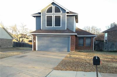 Lewisville Single Family Home Active Option Contract: 1001 Sylvan Creek Drive