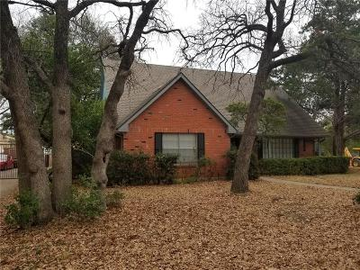 Irving Single Family Home For Sale: 1400 Colony Drive
