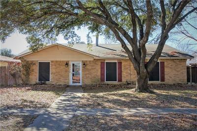 The Colony Single Family Home For Sale: 5220 Fisher Drive