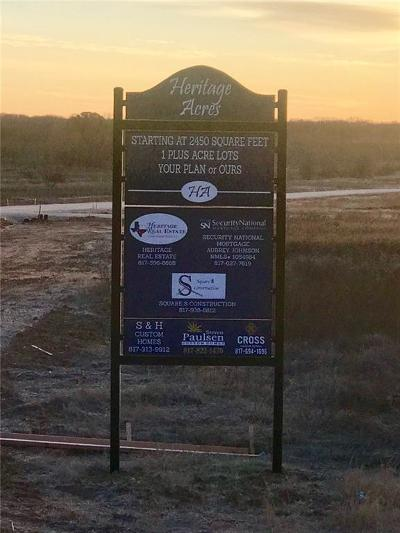 Millsap Residential Lots & Land For Sale: Tbd1 Buddy Court