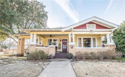 Fort Worth Single Family Home For Sale: 2020 Carleton Avenue