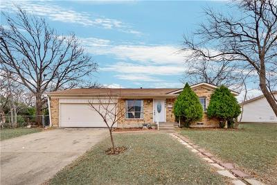 Garland Single Family Home Active Option Contract: 2202 Newcastle Drive