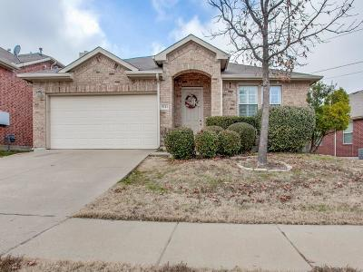 Sachse Single Family Home Active Option Contract: 5111 Willow Bend Lane