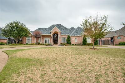 Colleyville Single Family Home Active Option Contract: 7405 Pebble Hill Drive