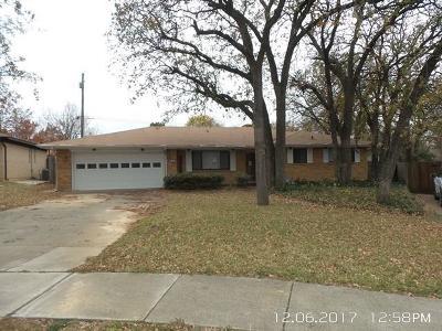 Irving Single Family Home For Sale: 3214 Konet Street