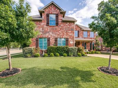 Keller Single Family Home Active Option Contract: 428 Crystal Glen Drive